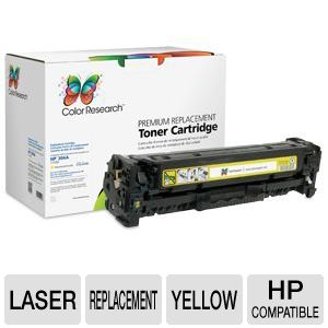 Color Research HP 304A CC532A Yellow Toner