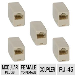 Cables To Go 01937 RJ-45 Modular Inline Coupler