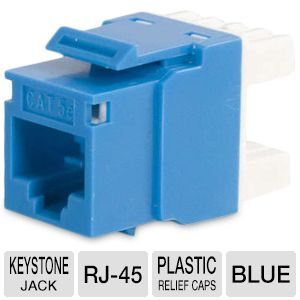 Cables To Go Cat5e Keystone Jack