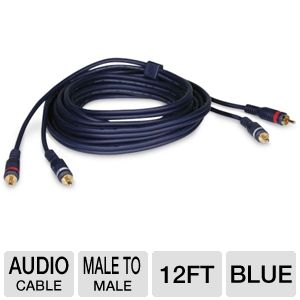 Cables To Go 12-Foot Velocity Audio L/R Cable
