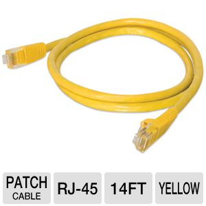 Cables To Go 14-Foot CaT5e Snagless Patch Cable