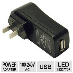 Cables To Go AC to USB Power Adapter