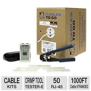 Cables To Go Network Kit