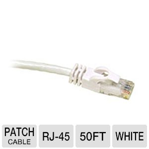Cables To Go 50-Foot Cat6 Snagless Patch Cable