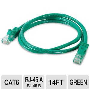 Cables To Go 14-Foot Cat6 Patch Cable