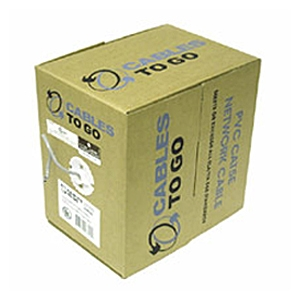 Cable To Go 1000-Foot Cat5e 350 Mhz PVC Cable