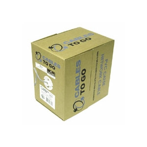 Cables To Go 1000-Foot CaT5e Stranded CMR Cable
