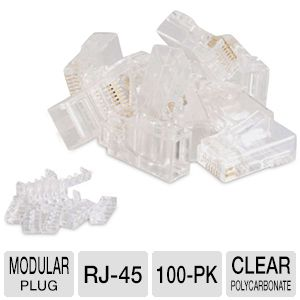 Cables To Go 27575 RJ45 CAT 5E Modular Plug
