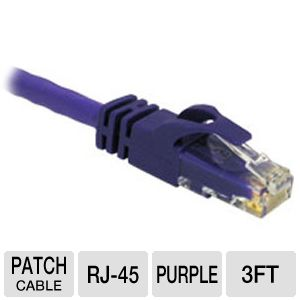 Cables To Go 3-Foot Cat6 Snagless Patch Cable