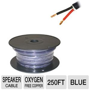 Cables To Go 250-Foot 12 AWG Bulk Speaker Cable
