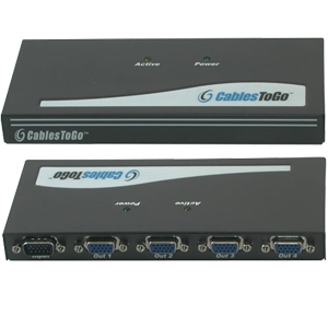 Cables To Go 4-Port UXGA Monitor Splitter Extender