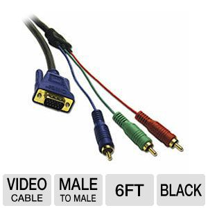 Cables To Go 6' ft HDTV Component Video Cable