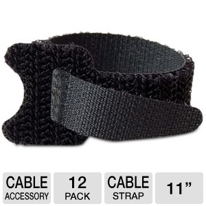 Cables To Go 6-Inch Cable Management Straps