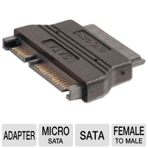 Cables to Go Micro SATA to SATA Adapter