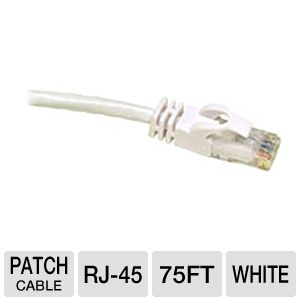 Cables To Go 75-Foot Cat6 Snagless Patch Cable