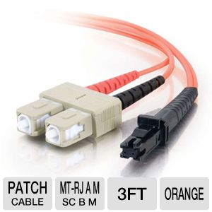 Cables To Go 3-Foot Multimode Fiber Optic Cable