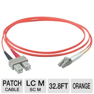 Cables To Go 33-Foot Multimode Duplex Patch Cable