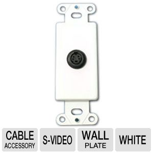 Cables To Go S-Video Wall Plate Insert