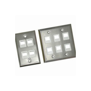 Cables To Go Multimedia Keystone Wall Plate