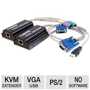 CTG TruLink VGA/USB & PS/2 KVM over Cat5 Extender
