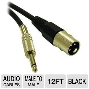 Cables To Go 12-Foot Pro Audio Cable