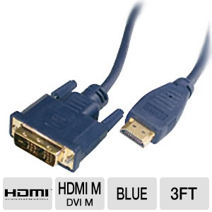 Cables To Go 3-Foot HDMI to DVI Cable