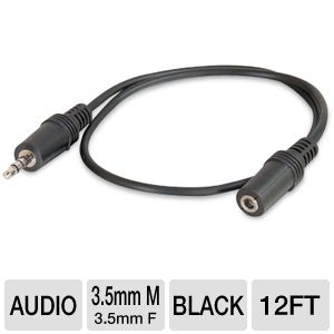 CTG 12' ft Stereo Audio Extension Cable
