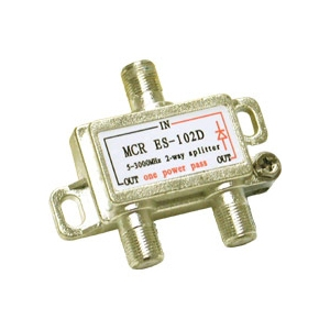 Cables To Go 2150 MHZ Two-Way Splitter