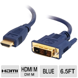 Cables To Go HDMI M to DVI M 6.5ft Cable