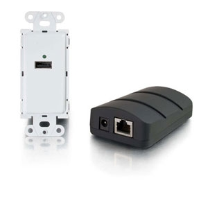 CablesToGo USB Dongle Trans to Wall Plate Rcvr Kit
