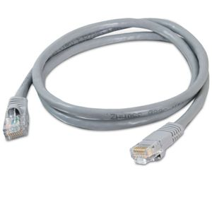 Cables To Go 14-Foot Cat5e  Patch Cable, Gray
