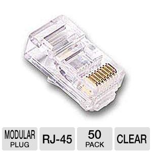 50 Pack RJ45 Mobile Plug Set