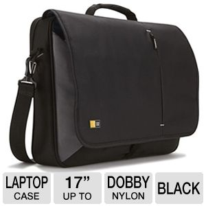 Case Logic VNM-217BLACK Laptop Messenger Bag 