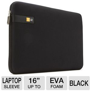 Case Logic LAPS-116BLACK Laptop Sleeve