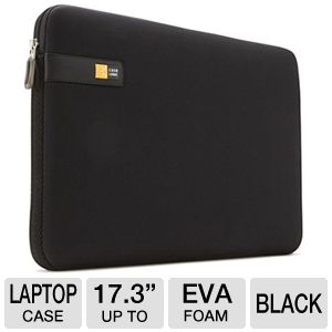 Case Logic LAPS-117BLACK Laptop Sleeve