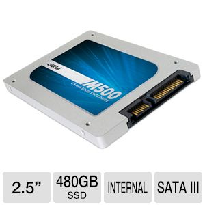 Crucial M500 Series 480GB SSD