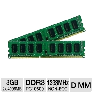 Crucial 8GB Desktop Memory Upgrade