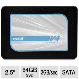 Crucial v4 64GB Internal Solid State Drive