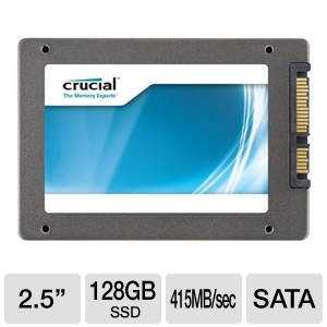 "Crucial CT128M4SSD2 m4 2.5"" Solid State Drive $159.99"