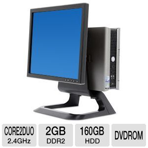 Dell Optiplex 755 Core 2 Duo 160GB Desktop PC