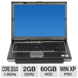 "Dell Latitude 14.1"" Core 2 Duo 60GB Notebook"