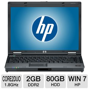 "HP EliteBook 6910p 14.1"" Core 2 Duo 80GB Notebook"