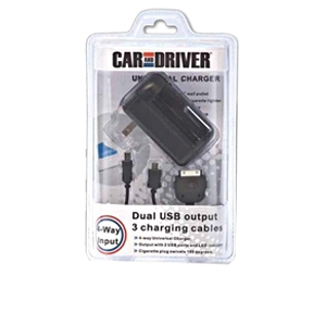 Car And Driver CD-UK5 Universal USB Charger