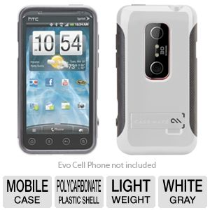 Case Mate Pop! EVO 3D White Cell Phone Case