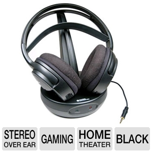Cables To Go 900MHz Wireless Stereo Headphones