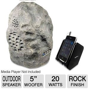 C2G Audio Unlimited SPKROCK3 Wireless Rock Speaker