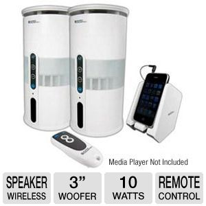 C2G Audio Unlimited Wireless Speakers