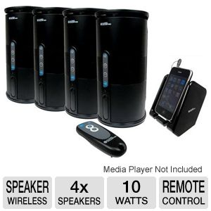 C2G Audio Unlimited Wireless 4 Speaker System
