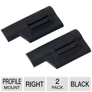 Contour Right Profile Mount - 2 Pack