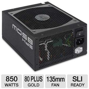 Cooler Master Silent Pro Hybrid 850W Modular PSU